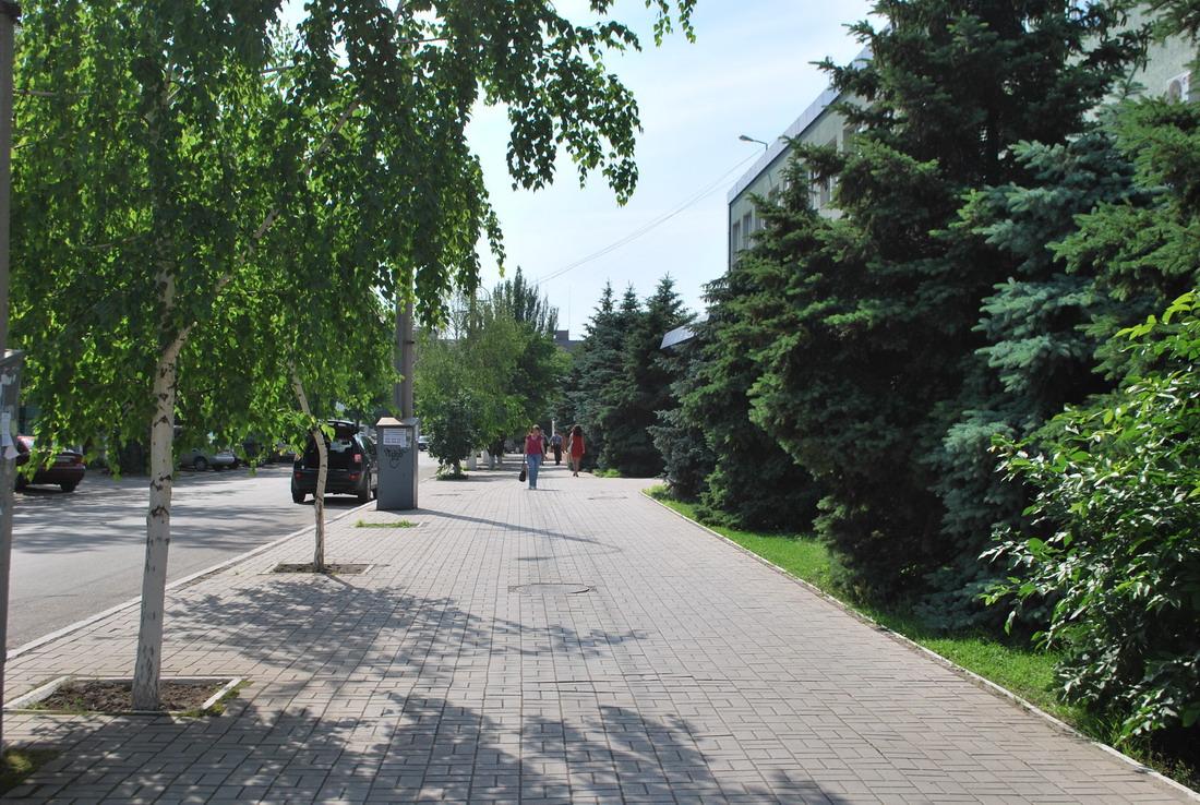 Фото на улице в центре города улица