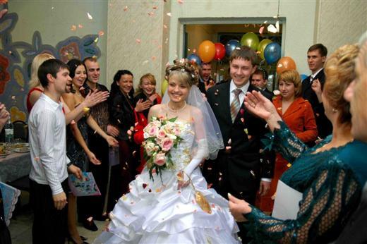 Поздравление родных на свадьбе